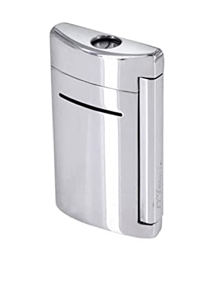 DuPont Lighters Lacquer and Chrome Lighter Excluding Lighter Fluid, Torch Flame, Grey