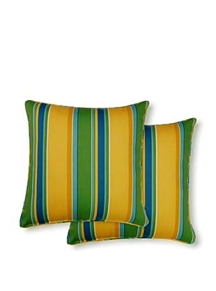 Dakota Set of 2 Acapulco Stripe Pillows