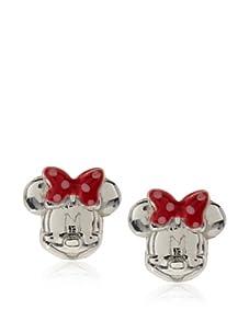 Disney Sterling Silver Minnie Stud Earrings