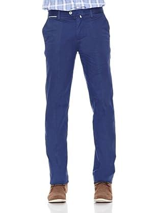 Pedro del Hierro Pantalón Pima Cotton Prosper (Azul)