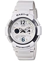 Casio Baby-G Analog-Digital White Dial Women's Watch - BGA-210-7B4DR(BX052)