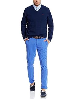 Hackett London Chinohose  blau W30