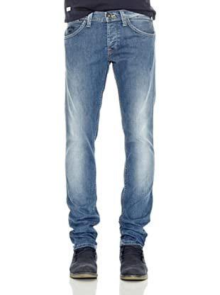 Pepe Jeans London Pantalón Vaquero Frankie Ot (Azul Medio)