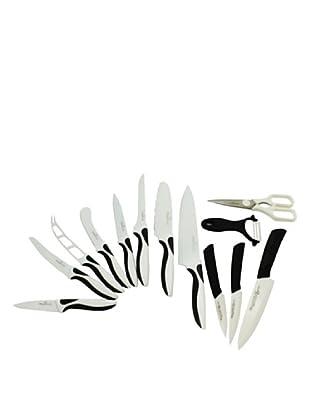 Magefesa/Quttin Set De  11 Cuchillos+ Tijera Y Pelador