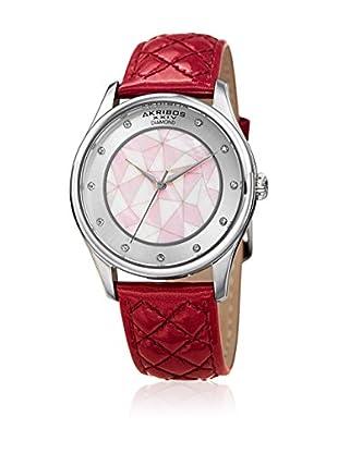 Akribos XXIV Uhr mit japanischem Quarzuhrwerk Woman pink 38 mm
