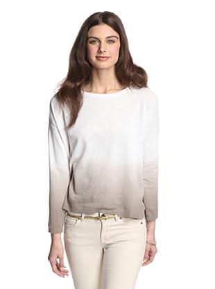 525 America Women's Dip Dye Pullover (Beechwood Combo)