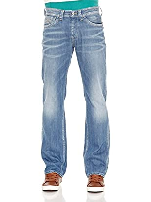 Pepe Jeans London Vaquero Kingston (Azul Medio)