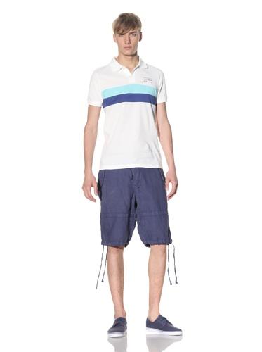 J.C. Rags Men's Short Sleeve Pique Polo (Cotton)