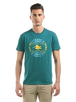 Hot Buttered Camiseta Manga Corta Surf Culture