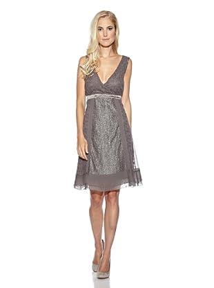 Cream Kleid Dolce Vita WO embroidery (Grau)