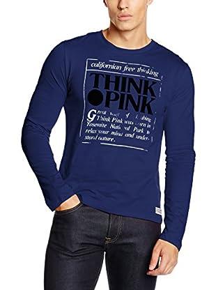 THINK PINK Camiseta Manga Larga