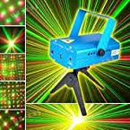 Sound Activated Laser Mini Light Projector Stage Lighting for Party (20.00 Watts)