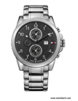 Tommy Hilfiger Analog Black Dial Men's Watch - TH1710296-D