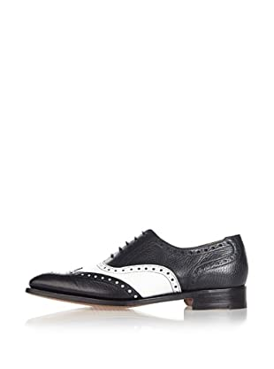 George Webb Zapatos Minerva (Negro/Blanco)