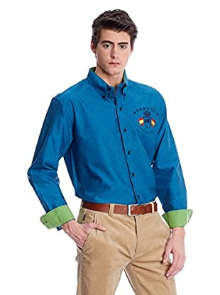 Spagnolo Camisa Hombre Oxford