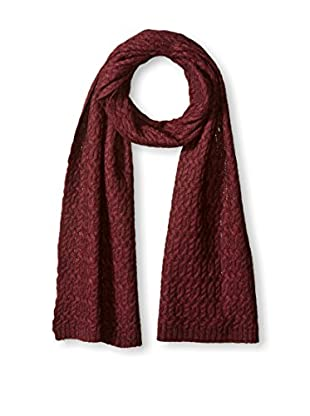 Thirty Five Kent Men's Cashmere Chain Cable Scarf, Iris