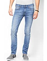 Light Blue Slim Fit Jeans (Skanders)