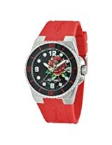Ed Hardy Women's FU-RS Fusion Red Watch