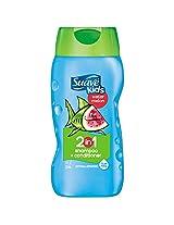 Suave For Kids Shampoo plus Conditioner 2 in 1 Wild Watermelon - 12oz.
