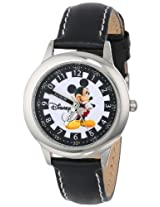 Disney Kids W000021 Time Teacher Mickey Mouse Stainless Steel Watch