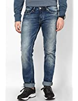Blue Slim Fit Jeans Gas