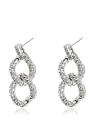 CZ BY KENNETH JAY LANE Pendientes Pave Drop