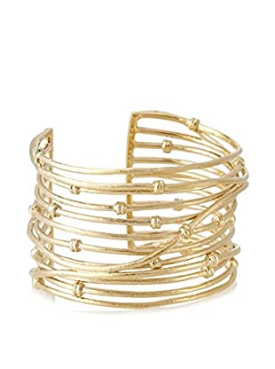 Rivka Friedman 18K Gold Clad Wrapped Knotted Mina Cuff