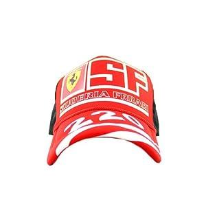 RED FRRARI ADJUSTABLE CAP