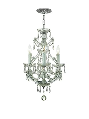 Gold Coast Lighting Reagan Mini Chandelier, Chrome