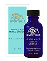 ASDM Beverly Hills 30% Glycolic Acid Peel, 1 Ounce