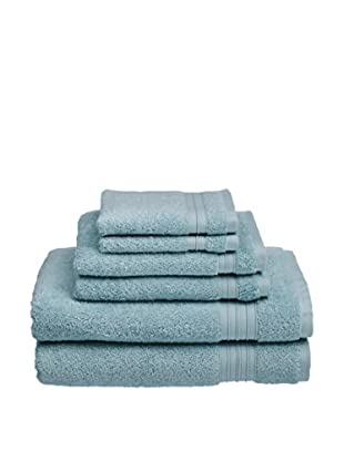 Welspun Hygrosoft 6-Piece Towel Set, Glacier