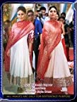 Kareena White n Red Dress - for Designer Sarees by SH FASHION