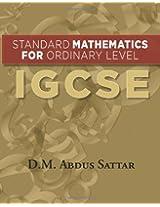 Standard Mathematics for Ordinary Level: Igcse