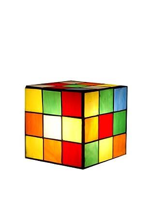 Arte Dal Mondo Lámpara De Dormitorio Adm Studio Cubo Rubik