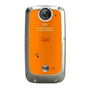 GE デジタルカメラ DV1 CMOS有効画素数 503万画素 フルハイビジョンムービー オレンジ DV1 ORANGE