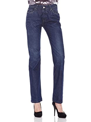 Salsa Jeans Boyfriend Straight (Azul)