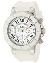 a_line Watches, Women's Marina Chronograph White Dial White Silicone, Model 20101DV
