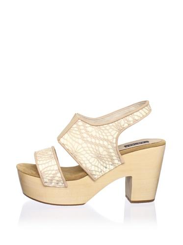 Messeca Women's Jen Slingback Sandal (Crochet)