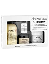 philosophy cleanse, refine and renew kit 1 ea