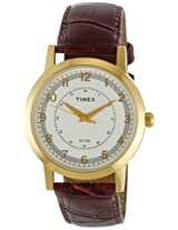 Timex Classics Analog Silver Dial Men's Watch - TI000T10600