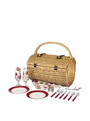 Picnic Time Service for 2 Barrel Picnic Basket
