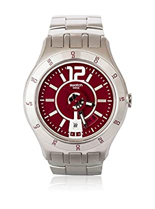 Swatch Quarzuhr Man IN A BURGUNDY MODE YTS405G 42.0 mm