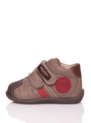 Pablosky Stiefel Aufnäher (Braun)