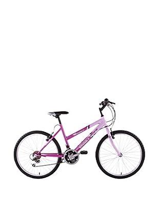 Schiano Cicli Bicicleta 24 Mtb 18V. Rosa