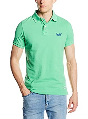 Superdry Polo Vintage Destroyed Pique
