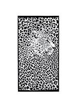 100x180cm Leopard Print Absorbent Microfiber Beach Towels Quick Dry Bath Towel
