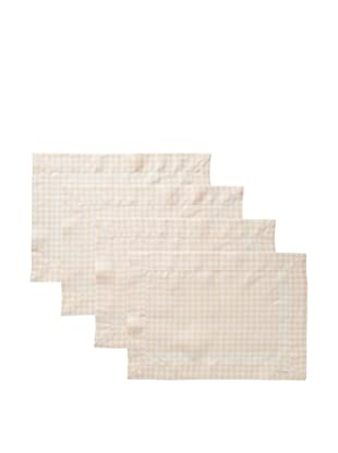 Sferra Set of 4 Piccadilly Placemats (Apricot)