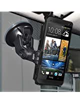 Amzer 95809 Suction Cup Mount for Windshield, Dash or Console for HTC One