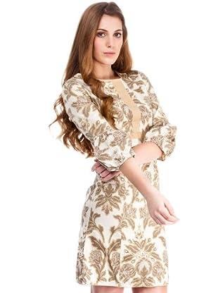 Almatrichi Vestido Mabel (marfil)