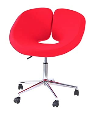 International Design USA Pluto Adjustable Leisure Chair, Red